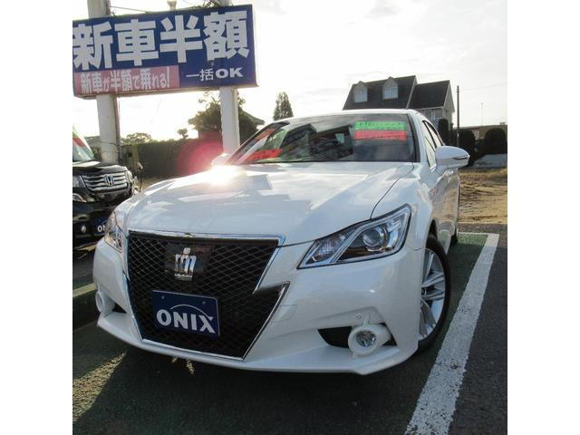 「トヨタ」「クラウンハイブリッド」「セダン」「千葉県」の中古車