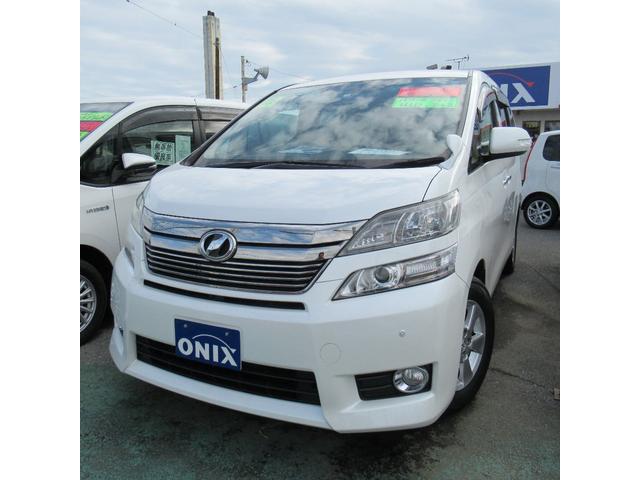 トヨタ 2.4X ナビ TV バックケカメラ 電動スライドドア 革調シートカバー