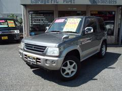 パジェロミニXR  4WD アルミ CD ナビ キーレス付
