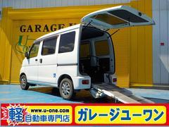 ハイゼットカーゴスローパー 車椅子移動車 電動ウインチ 電動固定器具