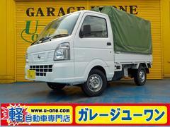 NT100クリッパートラックDX 幌付き エアコン パワステ エアバッグ 一年保証