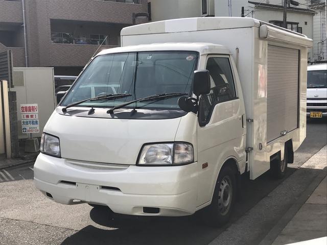 日産 移動販売車 ターフ付 水回り完備 AC オートマ