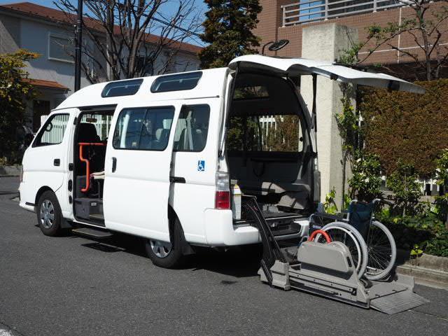 日産 福祉車両 リヤーリフト 車いす2名他8名乗り 営業登録可能