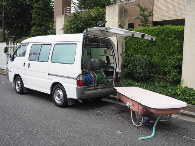 マツダ 福祉車両 移動入浴車 モリタエコノス製造 4人乗り