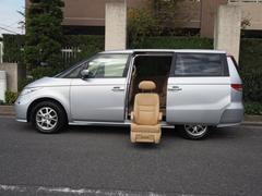 エリシオンMX 福祉車両 全自動サイドリフトアップシート 7人乗り