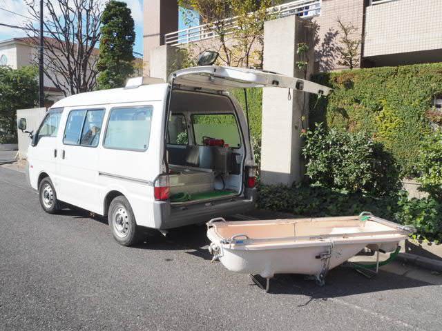 マツダ 福祉車両 移動入浴車 デベロ製2層バスタブ