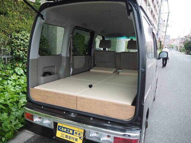 ダイハツ カスタムターボRS 車中泊 軽キャンピング仕様 蓄電池