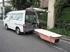 ボンゴバン福祉車両 移動入浴車 モリタエコノス製造 4人乗り