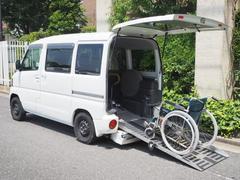 ミニキャブバン福祉車両 4WD スローパー 4人乗り