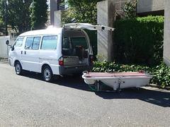 ボンゴバン福祉車両 移動入浴車 デベロ製 4人乗り