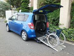 ラクティスG 福祉車両 スローパー 車椅子移動車 5人乗り 1オーナ
