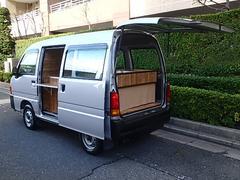 サンバーバン移動販売車 キッチンカー シンク2口付き