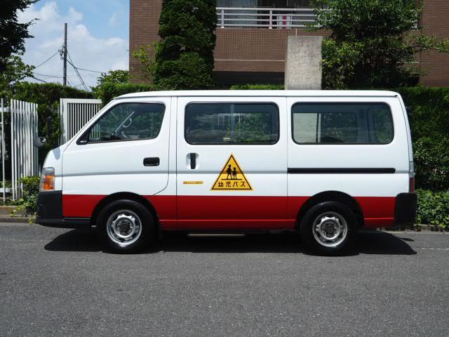日産 幼児バス 大人2名幼児12名 普通免許 オートステップ付き