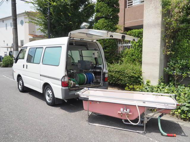 マツダ 福祉車両 移動入浴車 モリタエコノス製造