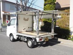 ハイゼットトラック移動販売車 三方開 生成食品 水道 シンク付き
