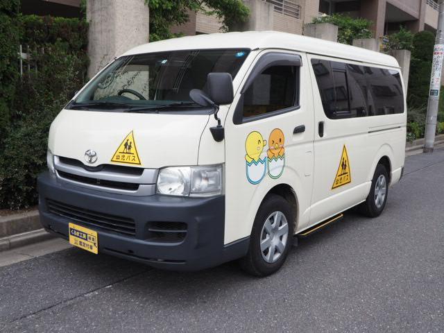 幼児バス 大人2名幼児12名 普通免許 オートステップ付き