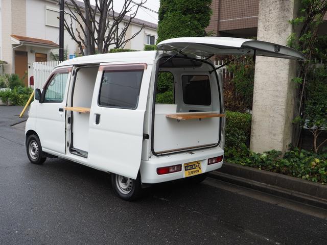 ダイハツ ハイゼットカーゴ DX 移動販売車 キッチンカー ケータリング車 シンク2個付き 水ポンプ2個付き カウンター2セット