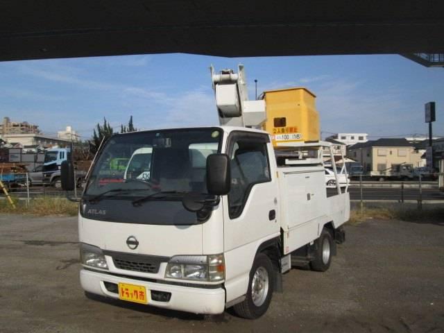 日産 高所作業車 7m SH07A MT5速 ディーゼル