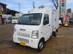 キャリイトラック冷蔵冷凍車ー5℃表示4WD AT サイド扉 パワステ