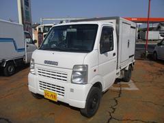 キャリイトラック冷蔵冷凍車−5℃表示4WD