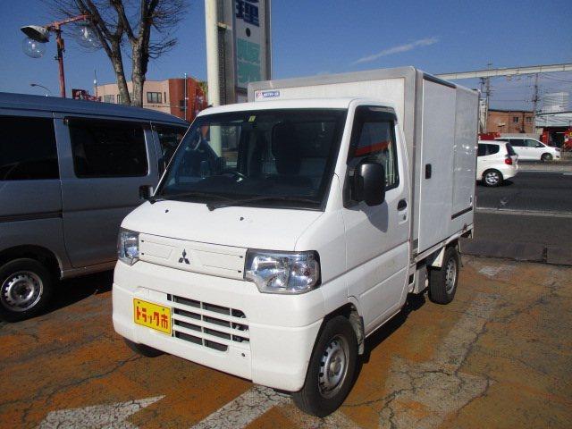 三菱 冷蔵冷凍車 -5℃表示 両開き