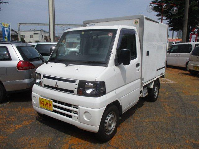 三菱 ミニキャブトラック  冷蔵冷凍車 -5℃表示 リビルトエンジンに交換しました。4万キロ保証