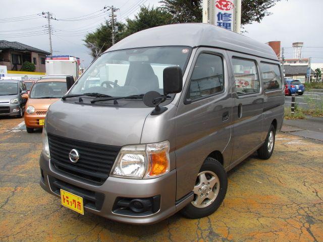 日産 SロングDXターボ ハイルーフ プラス4万円で6人乗りに変更できます。