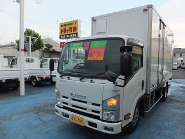 いすゞ 3.0tロングフルフラットローSG 保冷車