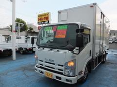 エルフトラック3.0tロングフルフラットローSG 保冷車