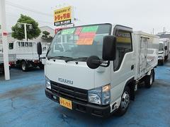 エルフトラック2.0tフルフラットロー低温冷凍 簡易2室式 10尺