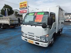 エルフトラック1.5tフラットローアルミV 2室 冷凍機付