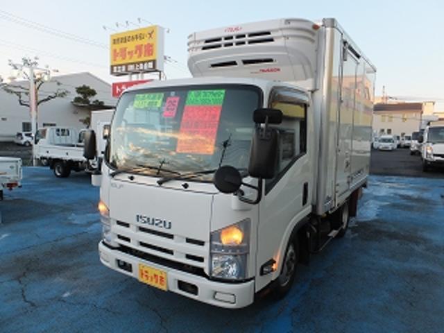 いすゞ 2.0tFFL低温冷凍車 10尺 3枚観音扉