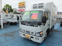 エルフトラック2.0tフルフラットロー冷蔵冷凍車10尺