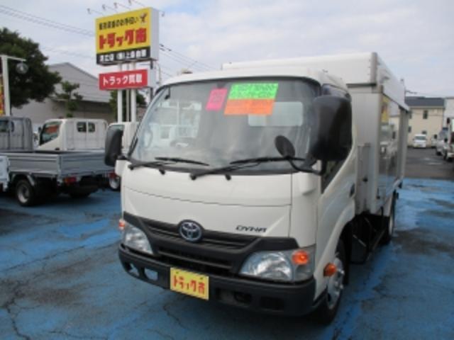 トヨタ 2.95tセミロングフルジャストローボトルカー