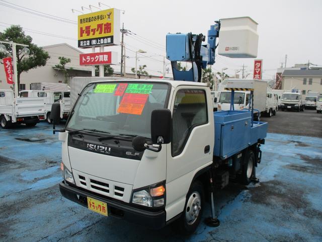 いすゞ 0.5t標準 高床 高所作業車 9.7m