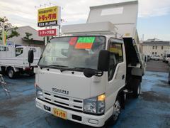 エルフトラック2.0t強化フルフラットローダンプ ST