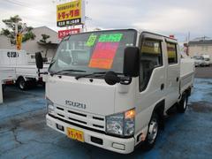エルフトラック1.5tWキャブフラットローW垂直PG600kg