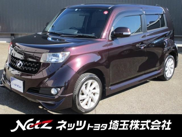トヨタ bB Z エアロ-Gパッケージ 純正HDDナビ・フルエアロ付き