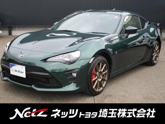 GT ブリティッシュグリーンリミテッド 6MT・純正SDナビ