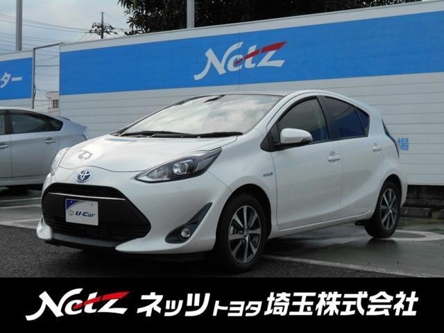 トヨタ アクア Gソフトレザーセレクション 元当社試乗車