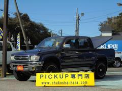 ハイラックススポーツピックWキャブ ワイド 4WD ハードトノカバー ブラックホイール