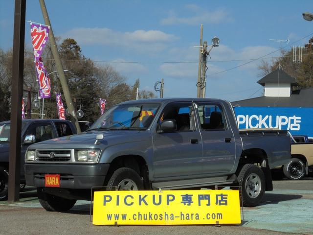 ハイラックス(トヨタ) Wキャブ 中古車画像