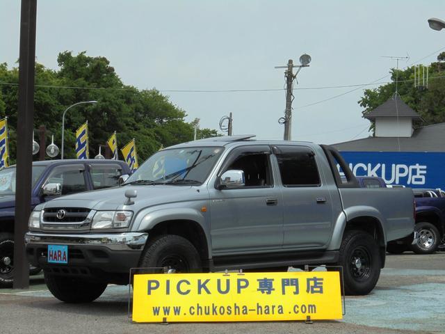 トヨタ ダブルキャブ ワイド4WD サンルーフ LINE-X
