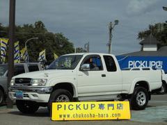ハイラックススポーツピックエクストラキャブ ワイド 4WD メッキバンパー ワンオーナー