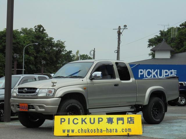 トヨタ ハイラックススポーツピック エクストラキャブ ワイド 4WD 荷台ライナー加工 リアステップバンパー
