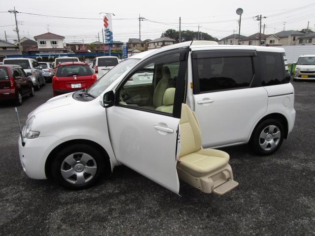 トヨタ シエンタ X ウエルキャブ 助手席リフトアップシート車 ...