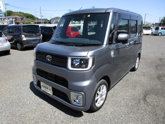 トヨタ L SAIII 地デジ対応バックガイドカメラ付純正SDナビ LEDヘッドライト 左右パワースライドドア