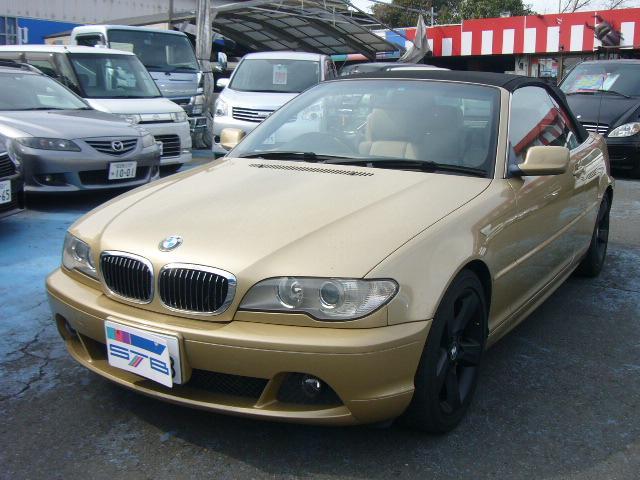 BMW 330Ciカブリオーレ 社外HDDナビ ETC 革シート
