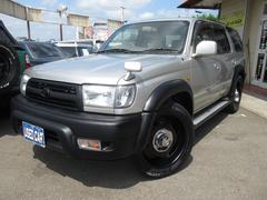 ハイラックスサーフSSR−X ローダウン マットブラック塗装 新品ラリー20インチ&新品タイヤ・4WD