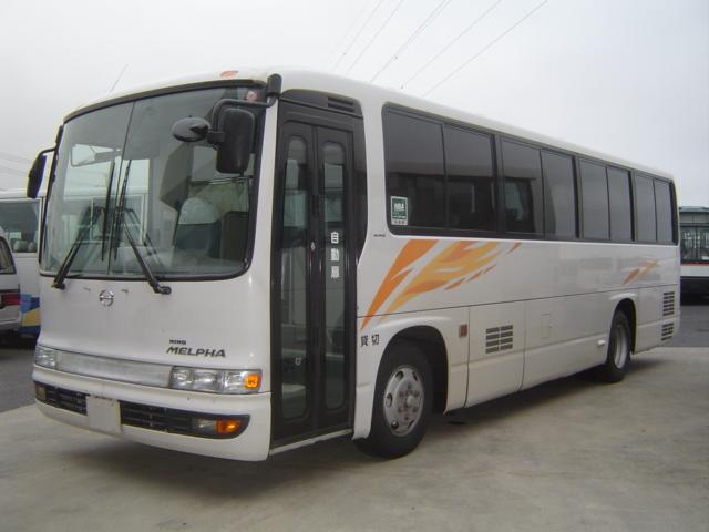 日野 メルファ 中型送迎 54人乗り 座席46席